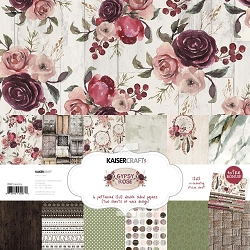KaiserCraft - Gypsy Rose Collection - Paper Pack