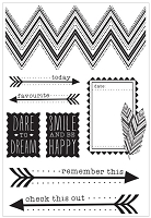 Kaiser - Bow & Arrow Collection - Clear Stamps :)