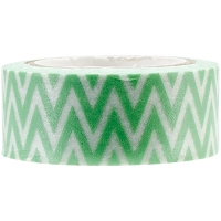 Kaiser - Printed Paper Tape - Mint Chevron