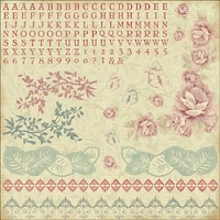 KaiserCraft - Magnolia Grove Collection - 12X12 Sticker Sheet
