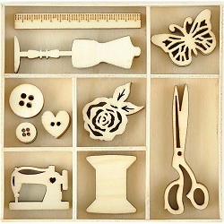 KaiserCraft - Miss Betty Collection - Treasure Wooden Shapes