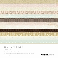 Kaiser Craft - On This Day Collection - 6.5