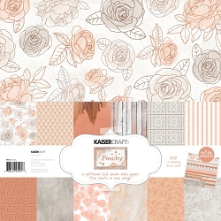 KaiserCraft - Peachy Collection - Paper Pack