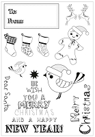Kaiser - Santa's List - Clear Stamp  Set