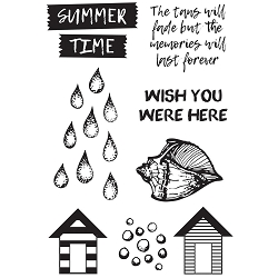 KaiserCraft - Summer Splash Collection - Clear Stamp