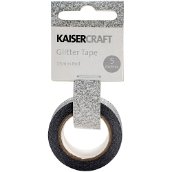 KaiserCraft - Glitter Tape - Steel