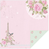 Kaisercraft - True Romance Collection - 12x12 Double Sided Paper - Day Dream