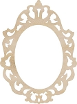 Kaiser Craft - Wood Embellishments - Ornate Frame