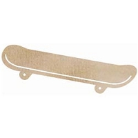 Kaiser Craft - Wood Flourish - Skateboard