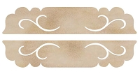 Kaiser Craft - Wood Flourish - Long Door Plaques