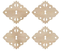 Kaiser Craft - Wood Flourish - Diamond Locks