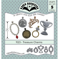 Karen Burniston - Cutting Die - Treasure Charms