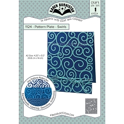 Karen Burniston - Cutting Die - Pattern Plate - Swirls