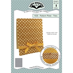 Karen Burniston - Cutting Die - Pattern Plate - Tiles