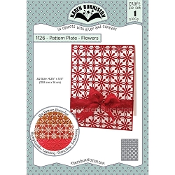 Karen Burniston - Cutting Die - Pattern Plate - Flowers
