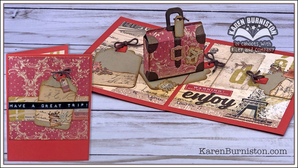 Karen Burniston - Cutting Die - Purse Pop-Up