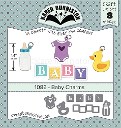 Karen Burniston - Cutting Die - Baby Charms Die Set