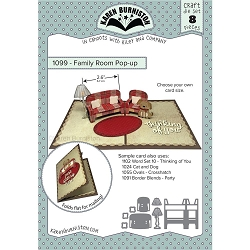 Karen Burniston - Cutting Die - Family Room Pop-Up Die Set