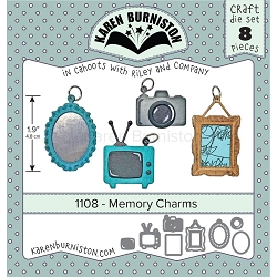 Karen Burniston - Cutting Die - Memory Charms Die Set