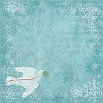 K & Co. - Elizabeth Brownd Visions of Christmas - Dove 12