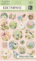K&Company - Susan Winget Floral Clearly Yours Icons