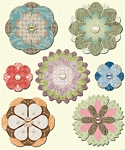 Studio 112 - Floral Chip Stickers