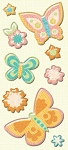 Studio 112 - Butterfly Pillow Stickers