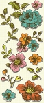 Studio 112 - Floral Pillow Stickers