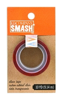 K&Company - SMASH - Triangle Clear Tape  (10 yds)