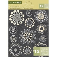 Studio 112 - Dimensional Stickers, Flowers