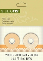 Studio 112 - Paper Tape - Orange