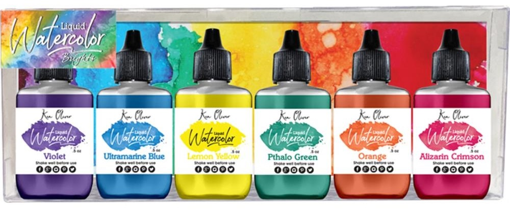 Ken Oliver Crafts - Liquid Watercolors