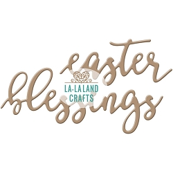 La-La Land Crafts - Die - Easter Blessings