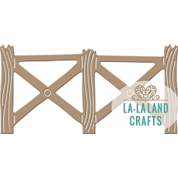 La-La Land Crafts - Die - Country Fence