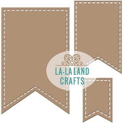 La-La Land Crafts - Die - Pennants