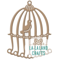 La-La Land Crafts - Die - Birdcage w/ Bird