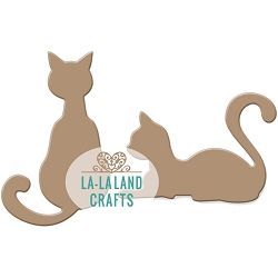 La-La Land Crafts - Die - Cats