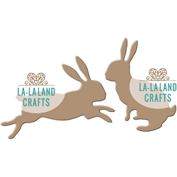 La-La Land Crafts - Die - Bunnies