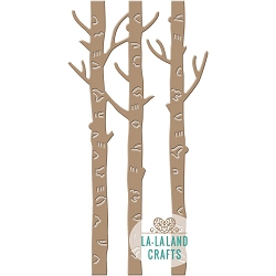 La-La Land Crafts - Die - Birch Trees