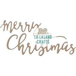 La-La Land Crafts - Die - Merry Christmas