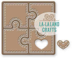 La-La Land Crafts - Die - Heart Puzzle