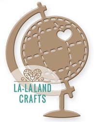 La-La Land Crafts - Die - Heart Globe