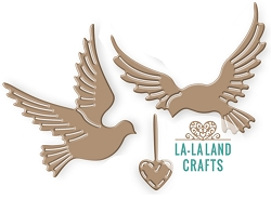 La-La Land Crafts - Die - Love Doves