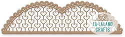 La-La Land Crafts - Die - Lacy Hearts Border