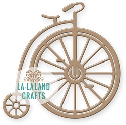 La-La Land Crafts - Die - Vintage Bike