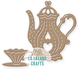 La-La Land Crafts - Die - Large Teapot