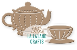 La-La Land Crafts - Die - Small Teapot