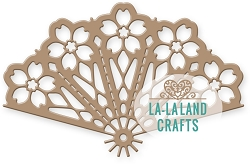 La-La Land Crafts - Die - Cherry Blossom Fan