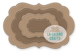La-La Land Crafts - Die - Nested Frames Large