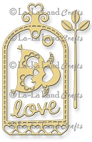 La-La Land Crafts - Die - Love Owl Tag (set of 5)